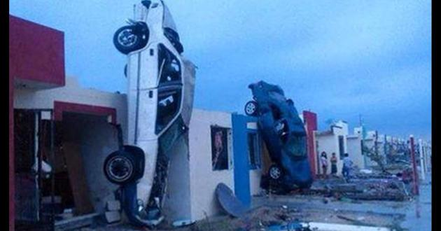 Doden door tornado in Mexico