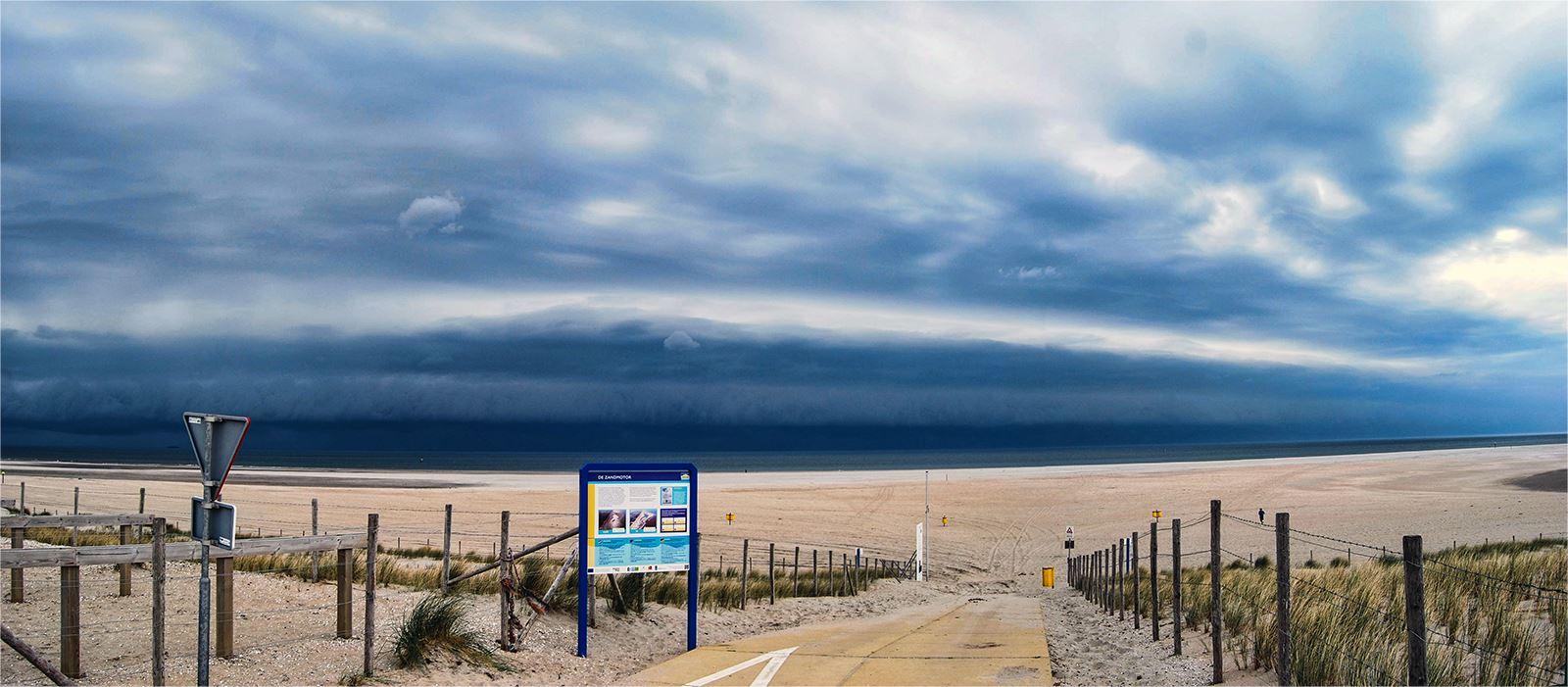 Eerste storm voor  2018